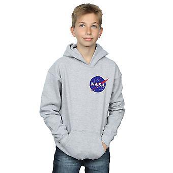 NASA Boys Classic Insignia petto Logo Hoodie