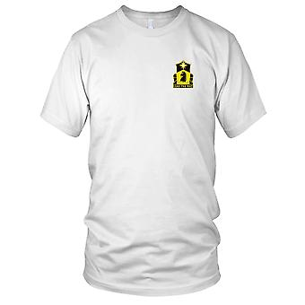 US Army - 151st Cavalry Regiment Embroidered Patch - Kids T Shirt