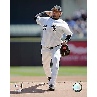 Freddy Garcia - 2006 Pitching Action Photo Print