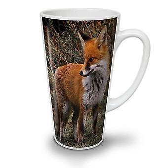Vlammende Hunter Fox nieuwe witte thee koffie keramische Latte Mok 17 oz | Wellcoda