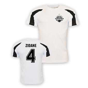 Zinedine Zidane Real Madrid Sports Training Jersey (white) - Kids