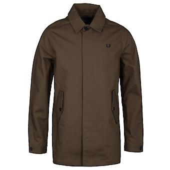 Fred Perry Oak Brown Caban Mac