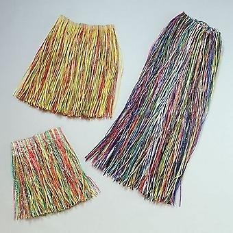 Grass Skirt Multi. Child size (B60)