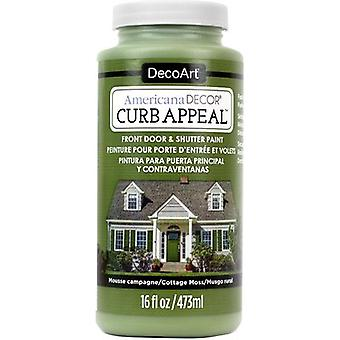 Americana Curb Appeal Paint 16oz-Cottage Moss ADCA65-11