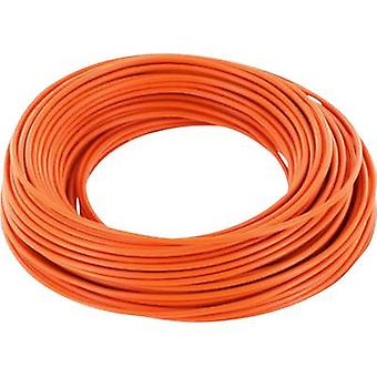Strand 1 x 0.14 mm² Orange BELI-BECO L118/10 og