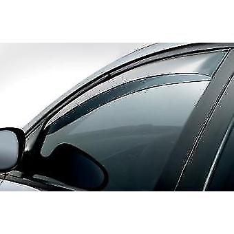Front Wind Deflectors for Fiat MAREA 1996-2007 Tinted