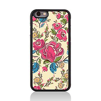 Call Candy Apple iPhone 7 Floral Collection Fancy Floral 2D Printed Case