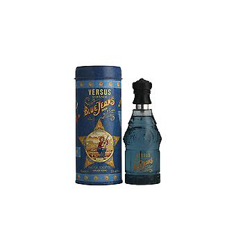 Versace Blue Jeans Eau De Toilette Vapo 75ml Mens New Perfume Spray Sealed Boxed