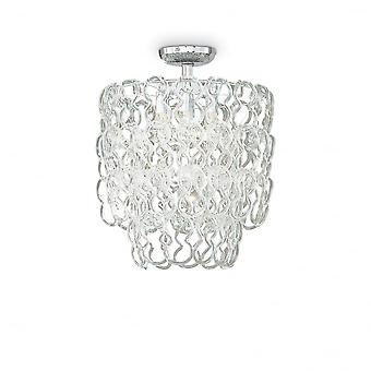 Ideal Lux Alba Modern 7 Bulb Ceiling Chandelier Type Pendant