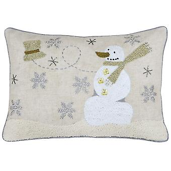 Riva Home Snowman kussen Cover