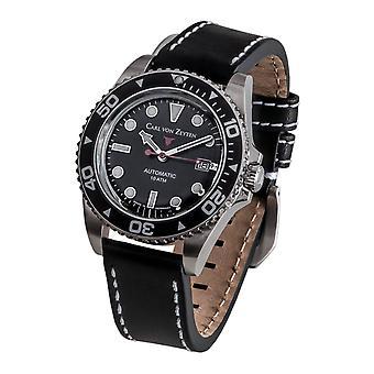 Carl of Zeyten men's watch wristwatch automatic no.. 30 CVZ0030BK