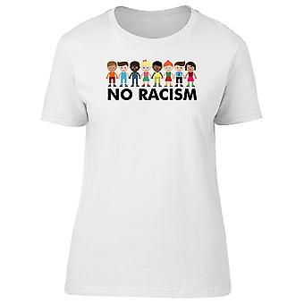 Multicultural People No Racism Tee Women's -Image by Shutterstock