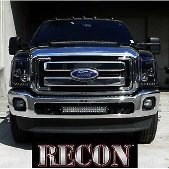 Recon Accessories 264272BK Headlight Assembly