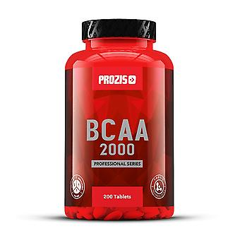 PROZIS - BCAA Professional 2000 mg 200 tabs - recovery exercise