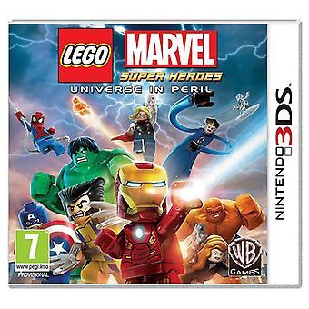 LEGO Marvel Super Heroes världen i fara Nintendo 3DS (svenska/danska Version)