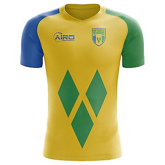 2018-2019 St Vincent and Grenadines Home Concept Football Shirt