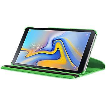 Für Samsung Galaxy Tab A 10.5 T590 T595 Grün 360 Grad Hülle Cover Tasche Case Neu