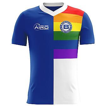 Camisa de futebol 2018-2019 Bochum casa conceito (crianças)