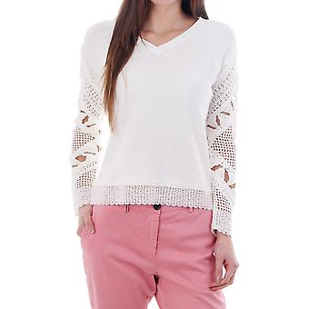 PS Paul Smith Knitted Jumper With Crochet Sleeves