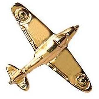 David Van Hagen WW2 RAF Fighter 9ct Tie TAC - Gold