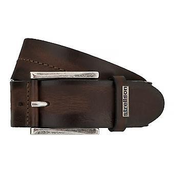 Ceintures pour hommes de Strellson ceintures cuir ceinture Cognac 7551
