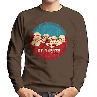 Originele Stormtrooper Mt Trooper Rushmore mannen Sweatshirt