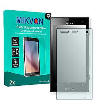 Sony Xperia Acro S LT26w Screen Protector - Mikvon Clear (Retail Package with accessories)