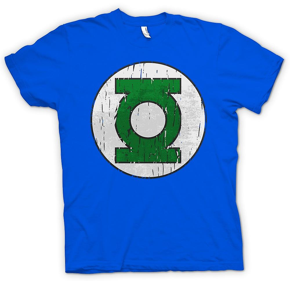 Mens T-shirt - Green Lantern Logo - Comic Hero