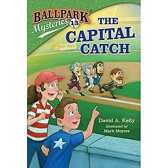 Baseballstadion Mysteries #13: Die Hauptstadt fangen (Stepping Stone Book(tm))
