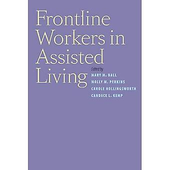 Trabalhadores da linha de frente na vida assistida