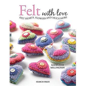 Voelde met liefde: 15 voelde harten, bloemen en nog veel meer