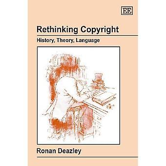 Rethinking Copyright: Geschichte, Theorie, Sprache