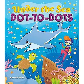 Under havet prick-till-prickar (barnens prick-till-prick)