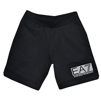 EA7 Boys Black Shorts