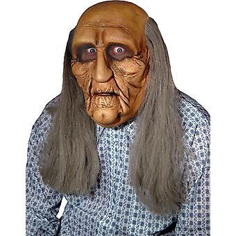 Alter Mann realistische Maske für Erwachsene