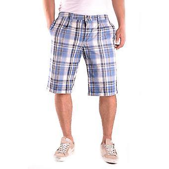 Shorts de algodão azul luz Dondup