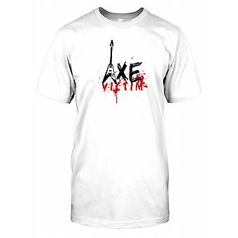 Axe Victim - Funny Guitar Kids T Shirt