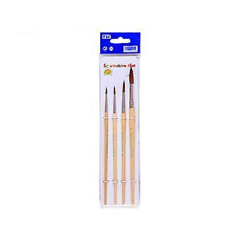 Brushes/Penselset (Pack of 4)