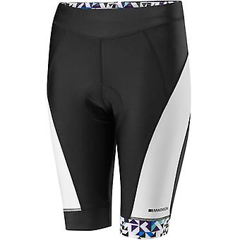 Madison Black-White-Purple Reign 2016 Sportive Womens Cycling Shorts