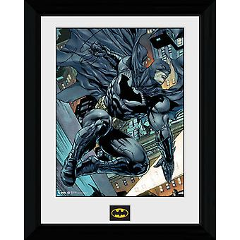 Batman komiks Swing oprawione Collector wydruku 40x30cm