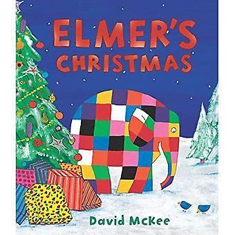 Elmer's Christmas: Mini inbunden (Elmer bilderböcker)