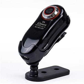 E8 mini 720p wireless ip p2p camera micro sd video recorder remote monitor motion detection alarm