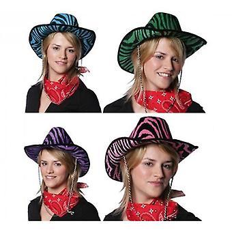 Rubie Hat Cowboy Zebra 4 Col.Stdos. (Babyer og barn, kostymer)