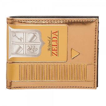 Wallet - Nintendo - Zelda Gold Cartridge Bi-Fold New mw4w0yntn