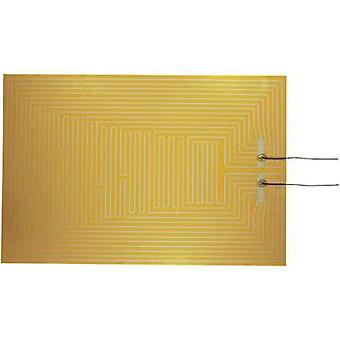 Heating foil self-adhesive 12 Vdc, 12 Vac 50 W IP rating IPX4 (L x W) 600 mm x 400 mm Thermo