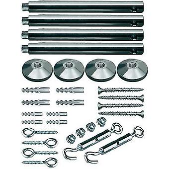 Low voltage cable kit Tensioner kit Paulmann Spannmontageset, chrom 17834 Chrome