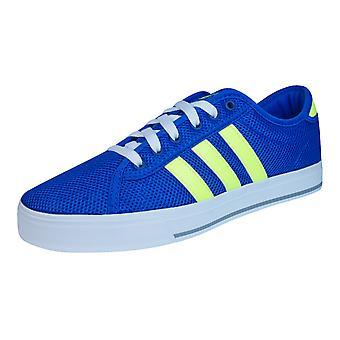 Adidas Neo Daily binden Herren Trainer / Schuhe - blau