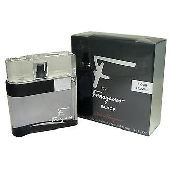 Ferragamo F for Men Black 3.4 oz EDT Spray