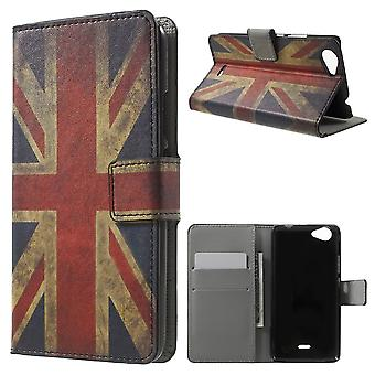 UK flag leather PU cover for Kiritkumar Rainbow Jam with bracket and door cards