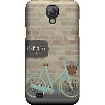 Kill Happiness and bicycle cover for Galaxy S4 mini